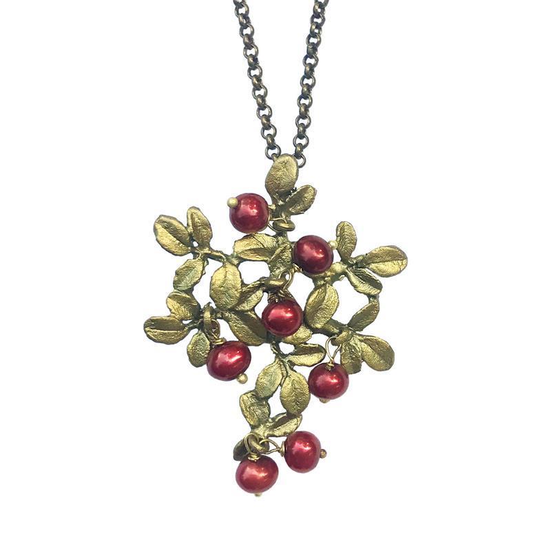Cranberry Pendant,8054BZCR