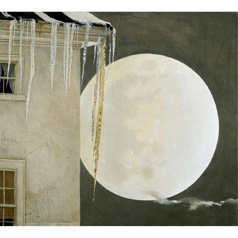 Moon Madness Art Print by Andrew Wyeth