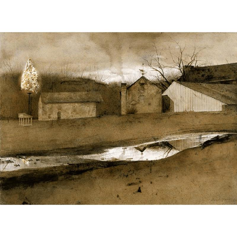 Last Light Print — Andrew Wyeth