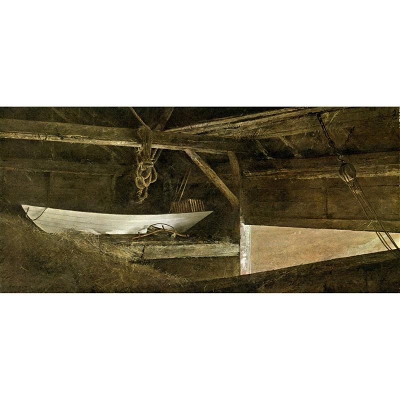 Hay Ledge Art Print by Andrew Wyeth
