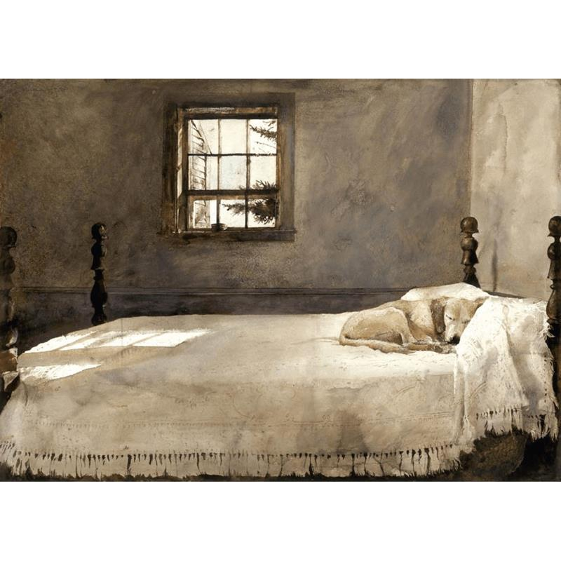 Master Bedroom Art Reproduction by Andrew Wyeth