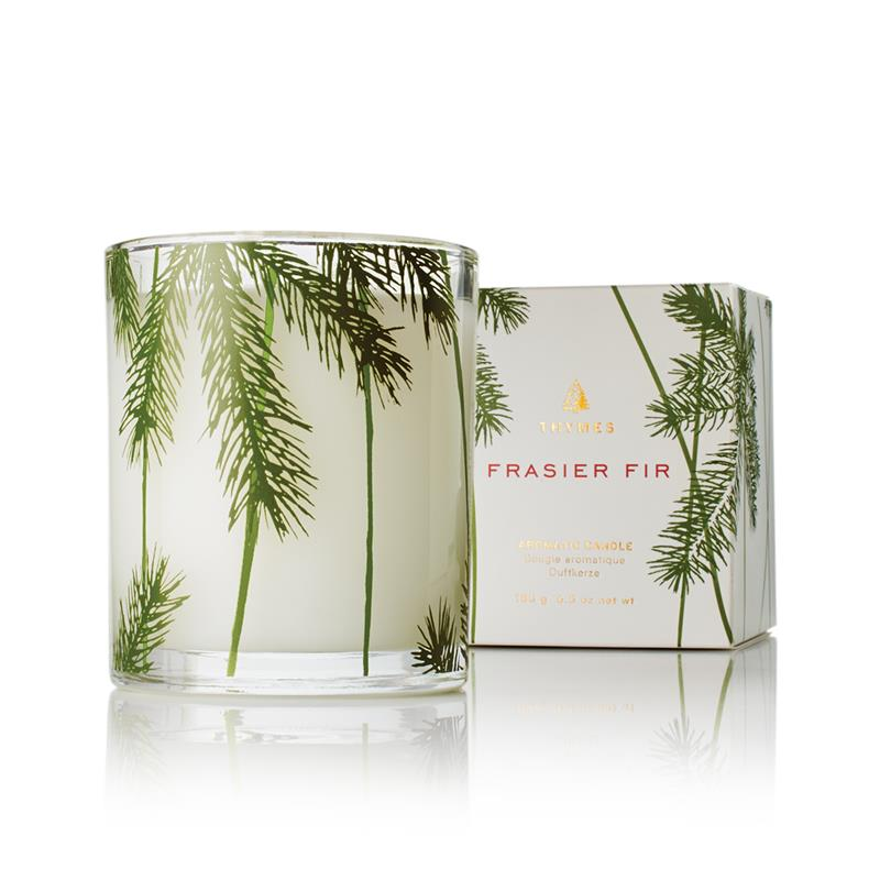 Frasier Fir Poured Candle Pine Needle Design 6.5oz,0521537000