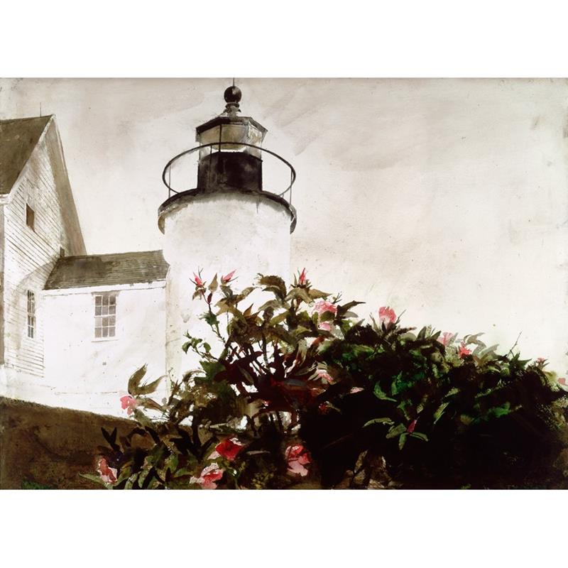 Sailor's Valentine Art Print by Andrew Wyeth