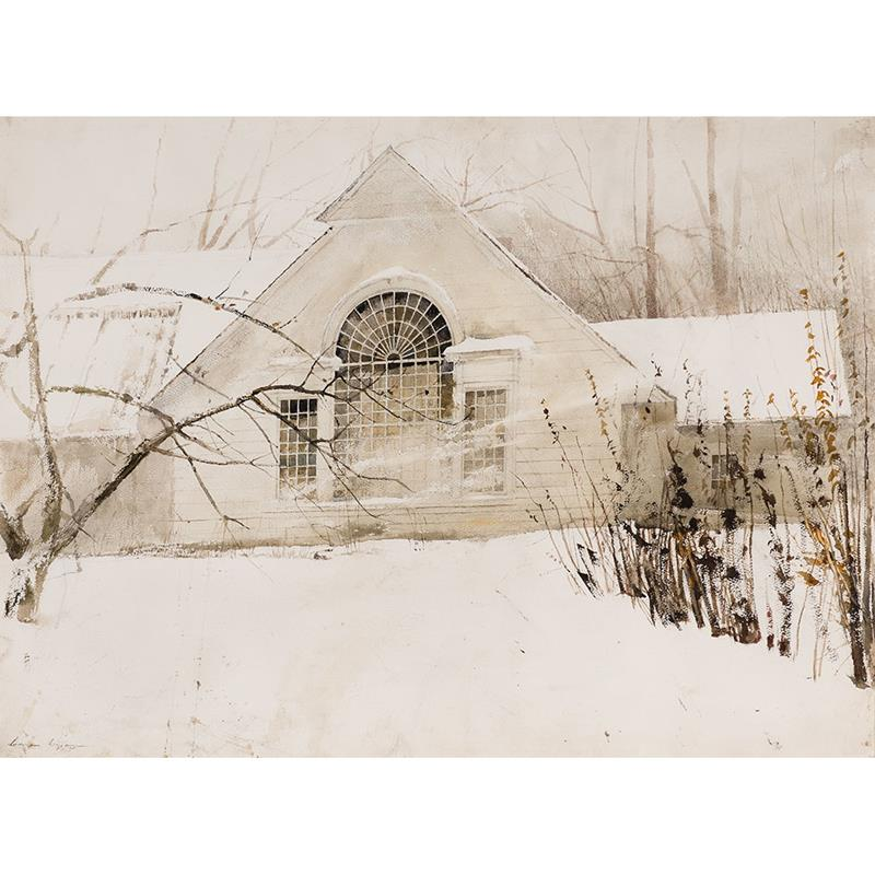 North Light 11x14 Matted Print — Andrew Wyeth