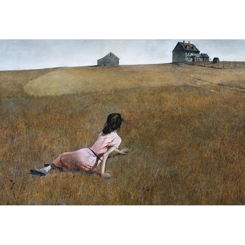 Christina's World Print — Andrew Wyeth