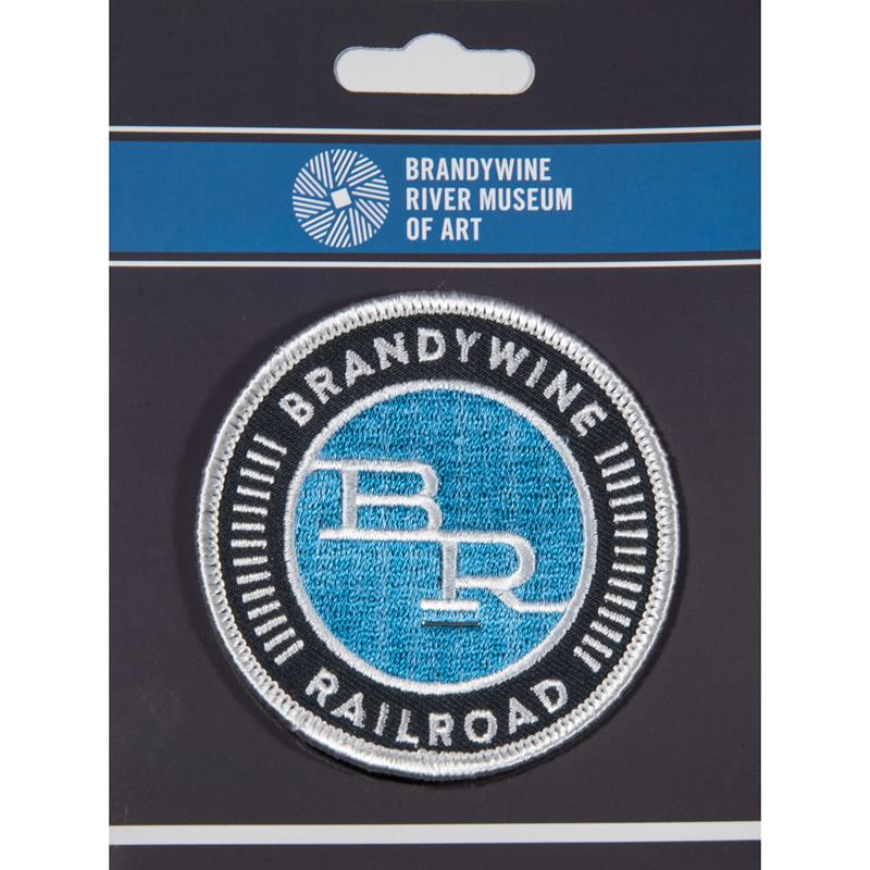 Brandywine Railroad Patch on card