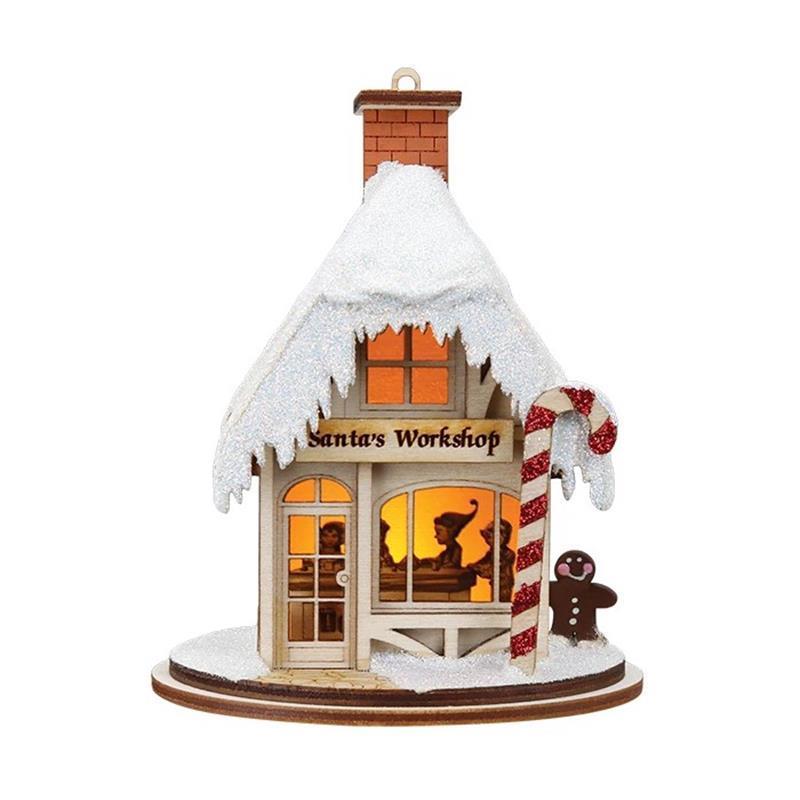 Santa's Workshop Cottage,GC106