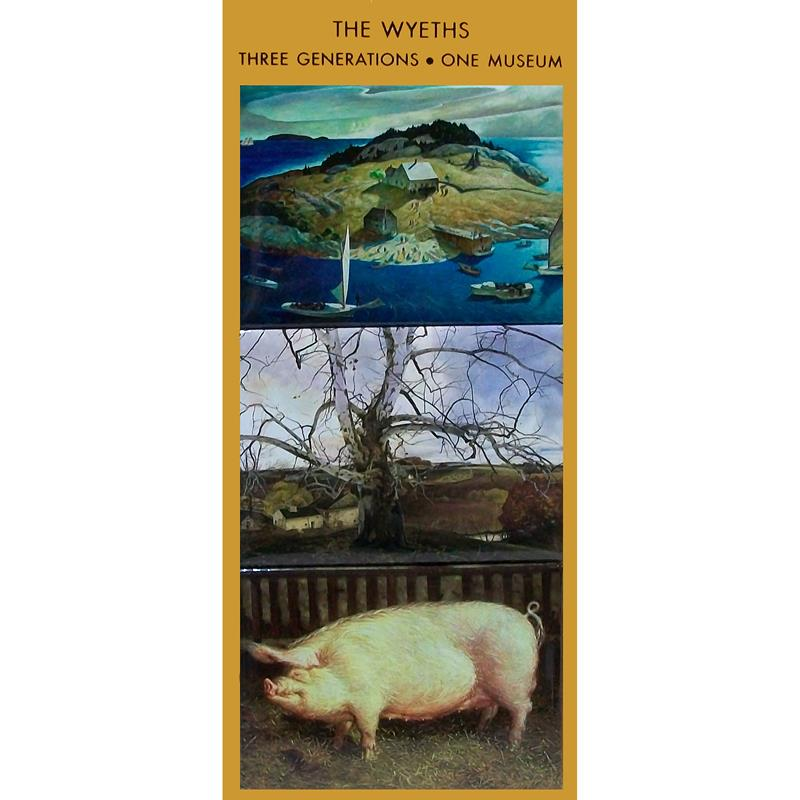 Three Generations of Wyeth Magnet Set