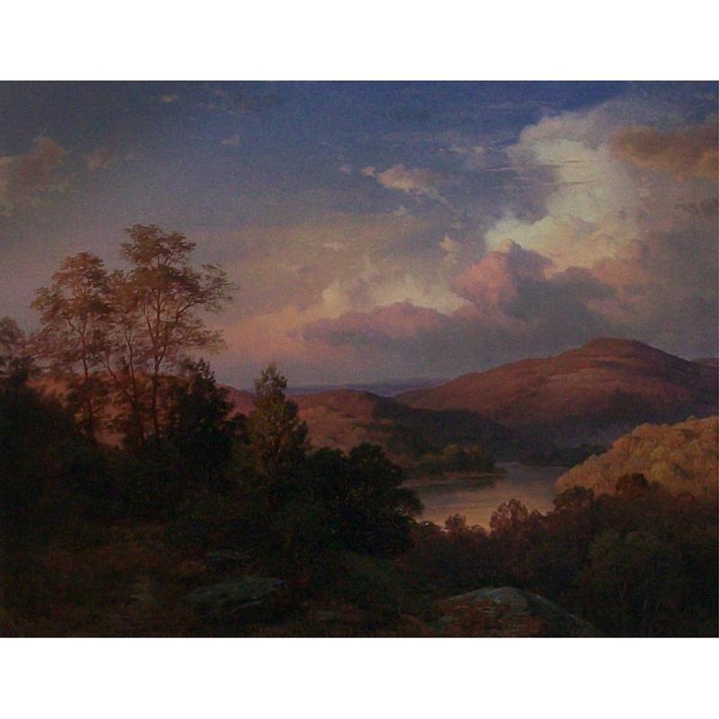 Sunrise in Alleghenies 11x14 Matted Print — Paul Weber