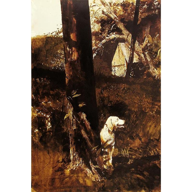 After the Chase Print — Andrew Wyeth