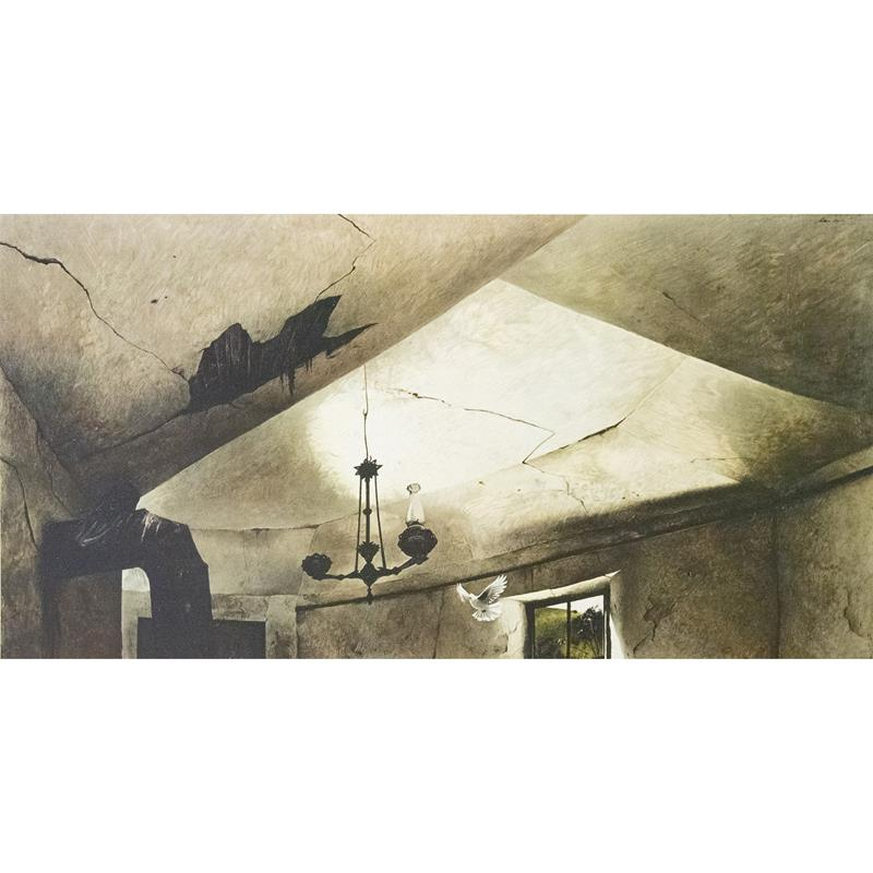 Mother Archie's Church Print — Andrew Wyeth