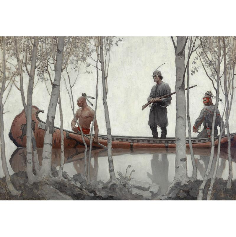 Last of the Mohicans Art Reproduction
