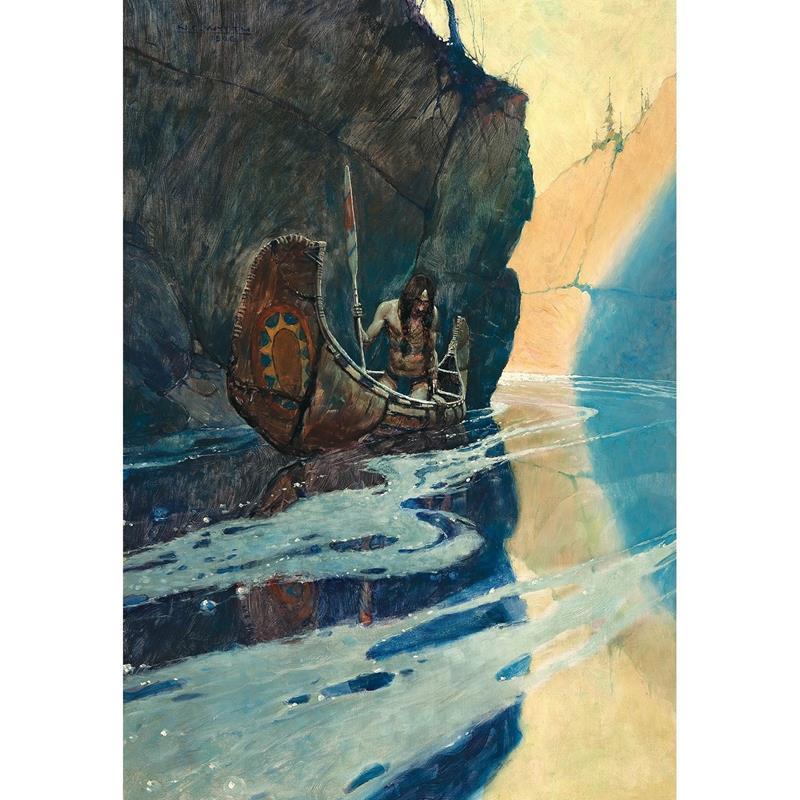 In the Crystal Depths Print — N.C. Wyeth