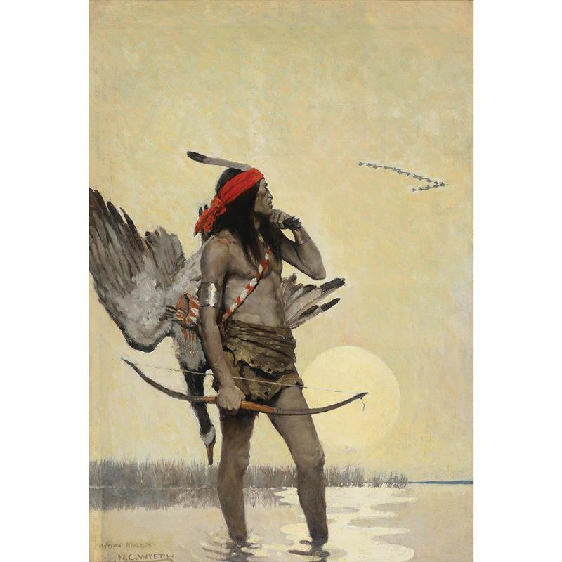 The Hunter Print — N.C. Wyeth