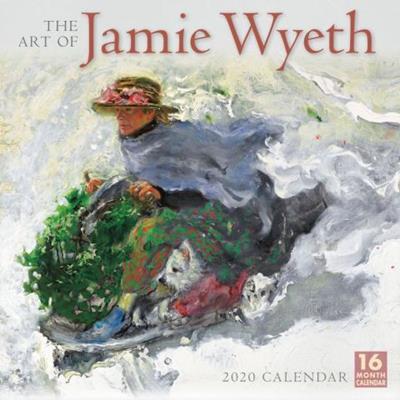 The Art of Jamie Wyeth Wall Calendar 2020,202000002676