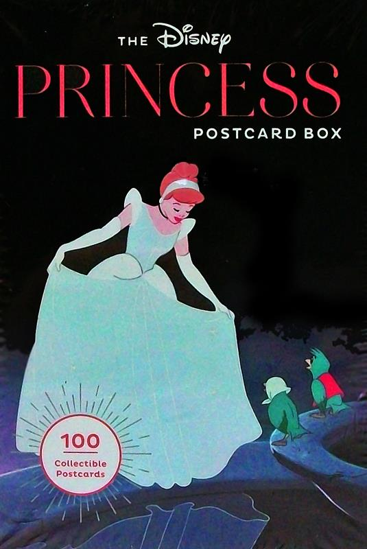 The Disney Princess Postcard Box