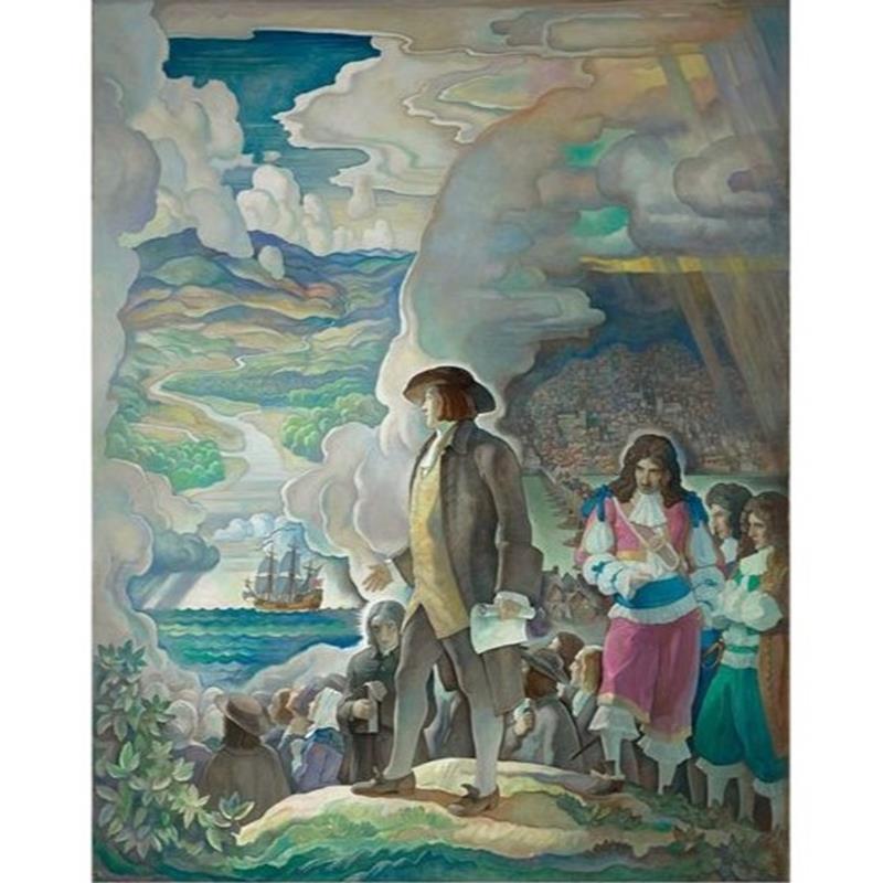 William Penn limited-edition N. C. Wyeth art reproduction