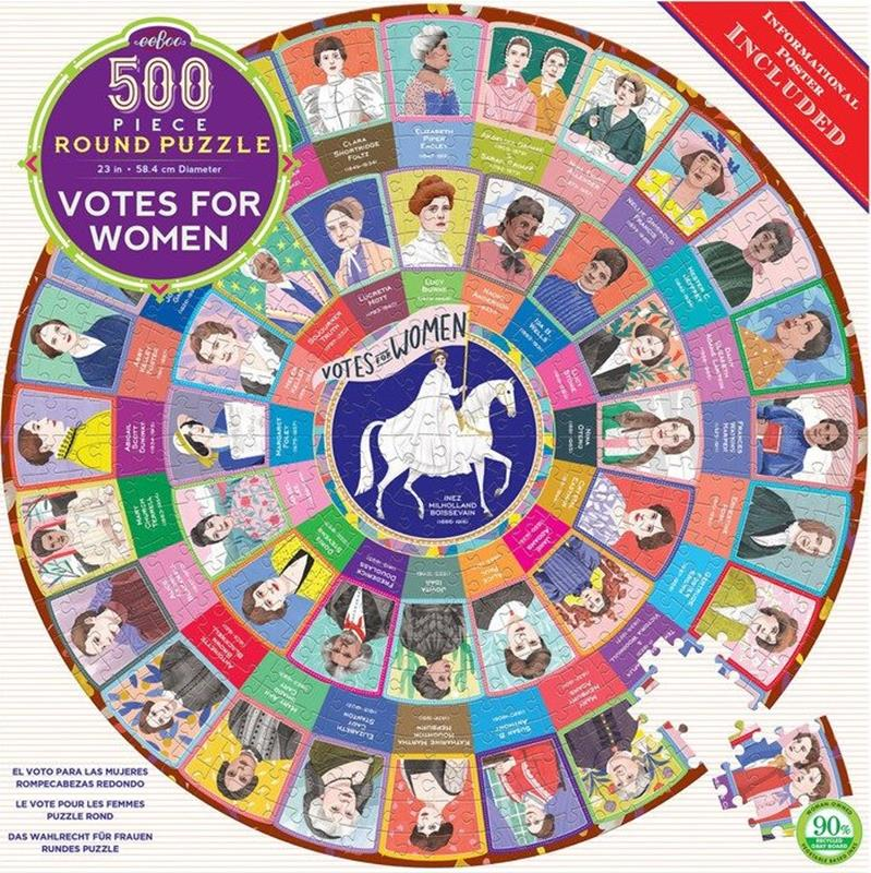 Votes For Women 500 Piece Puzzle,PZFWOM