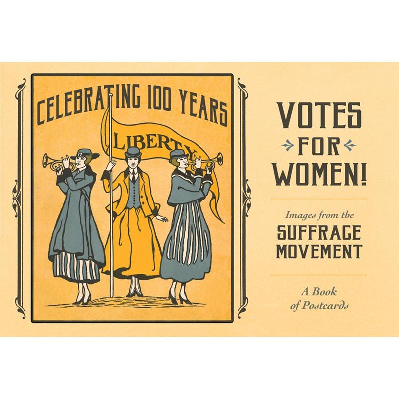 Votes for Women: The Suffrage Movement Book of Postcards,AA1052