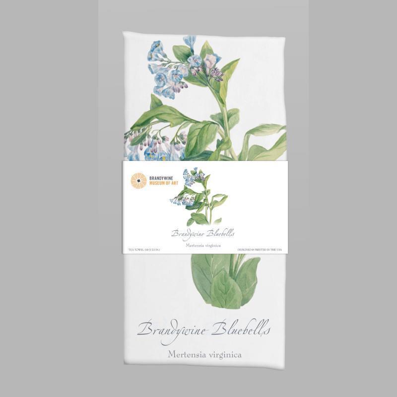 Brandywine Bluebells Tea Towel