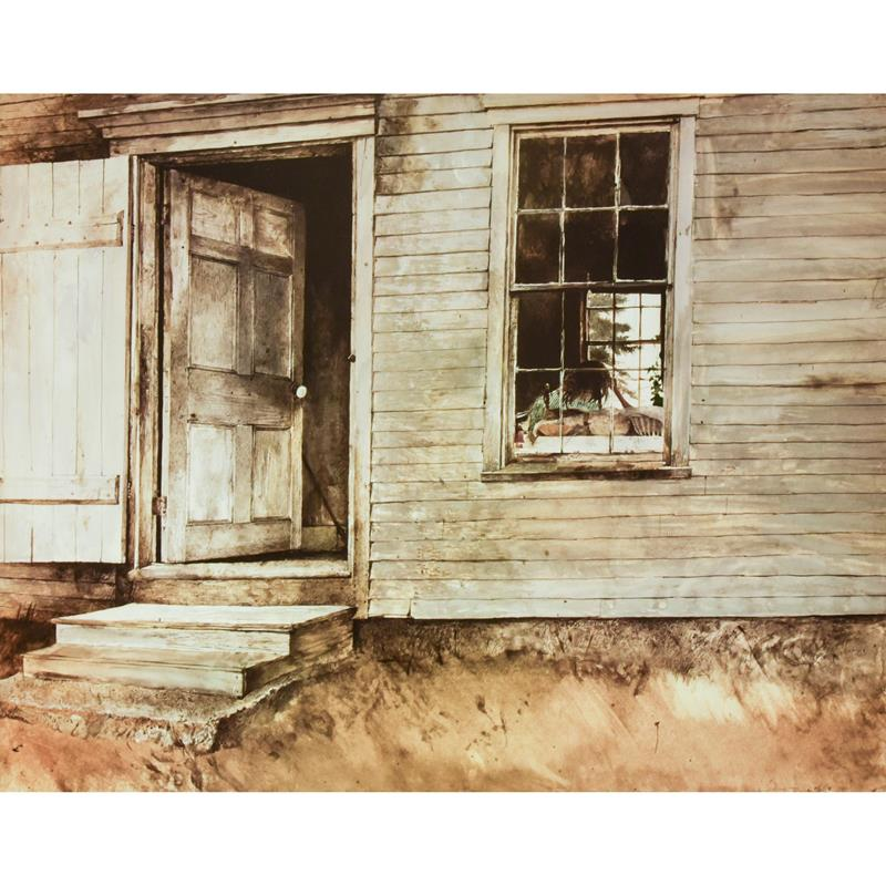 New England Art Print, Limited Edition - Andrew Wyeth