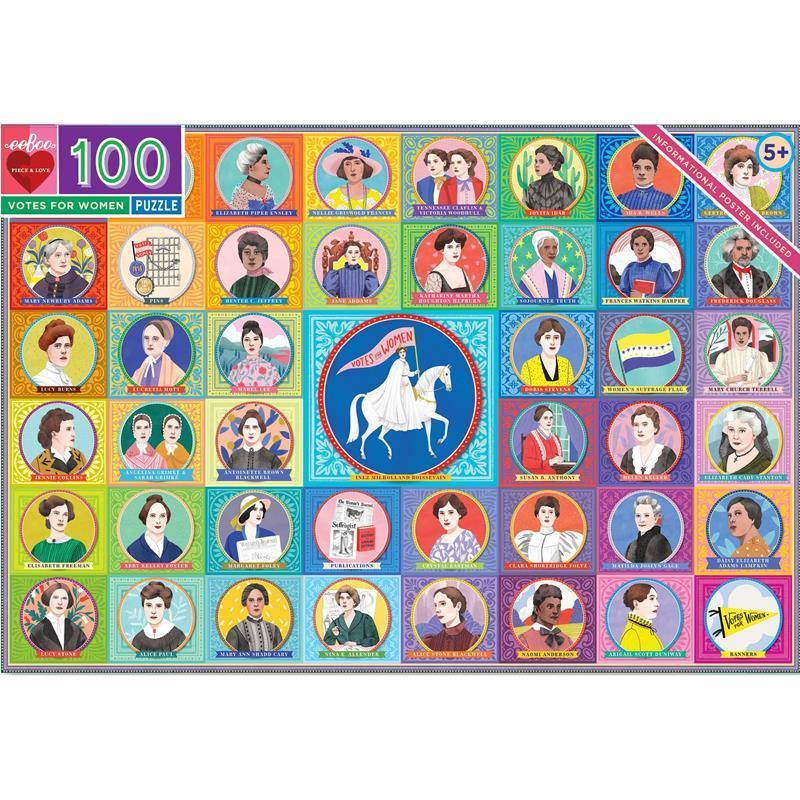 Votes for Women 100 Piece Puzzle,PZVFW