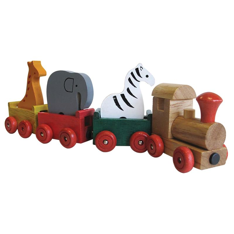 Wooden Animal Train Set,03/8797