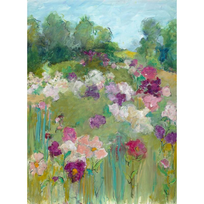 Peonies in June 12x16 Art Print — Mary Page Evans
