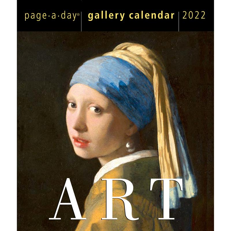 Art Page-A-Day Gallery Calendar 2022