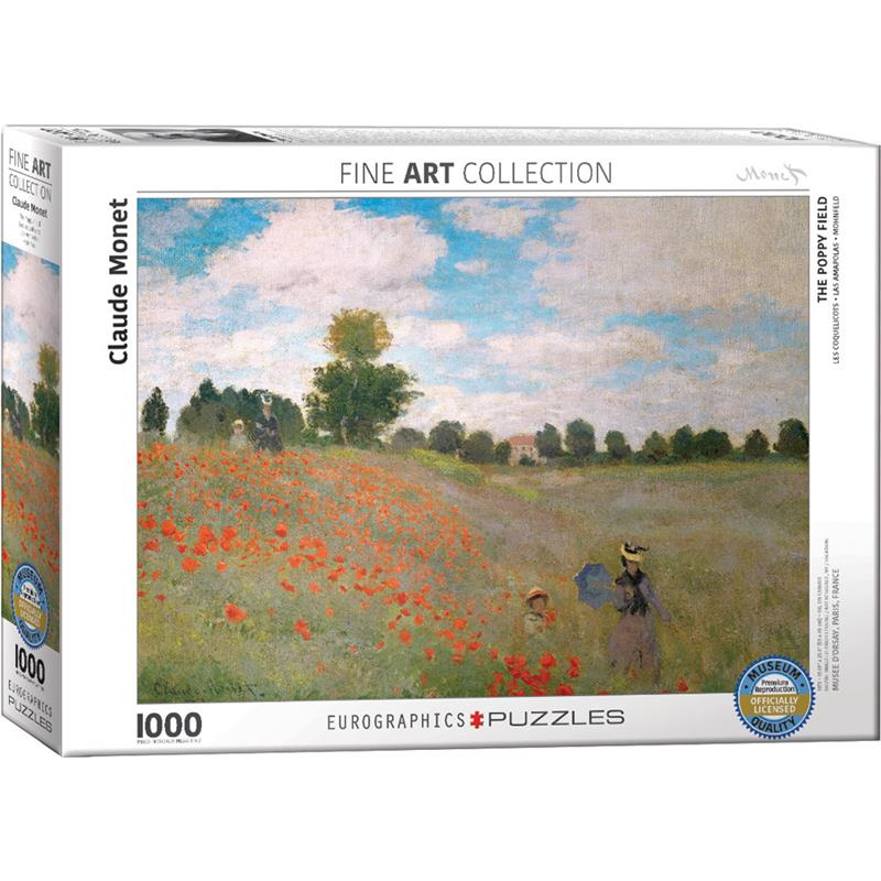 The Poppy Field Puzzle,6000-0826